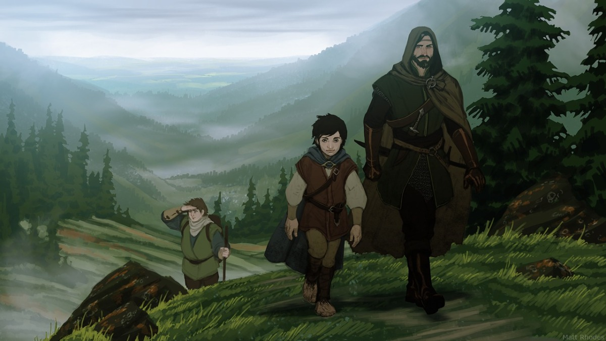 The Hobbit & The Lord Of The Rings - animated