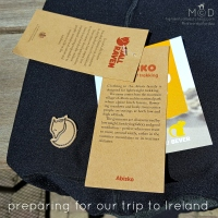 Preparing for our trip to Ireland