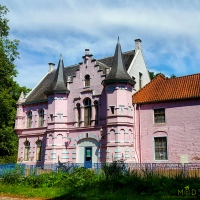 Pretty in Pink, castle or fairytale