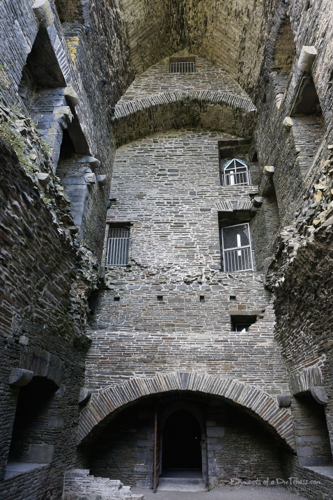 The interior of the tower