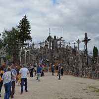 Eerie Hill of Crosses