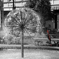 CBW: Sprinkling fountain